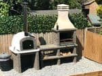 BBQ and oven deal in grey