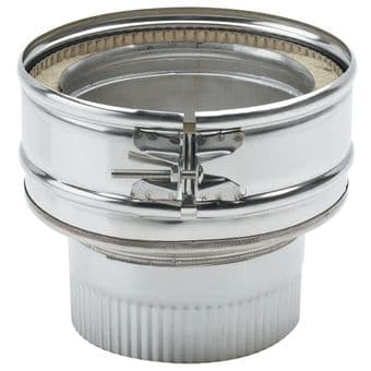 Reducer twin wall insulated reducer in stainless steel