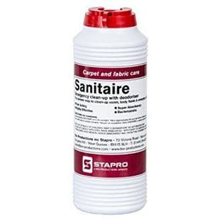 Sanitaire Clean-Up Powder with Deodorise - 240 Gram Shaker