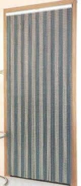 Chain Link Door Fly Curtain - Stripes