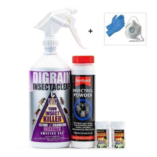 Fly and Flying Insect Kill and Control Treatment Kit 1
