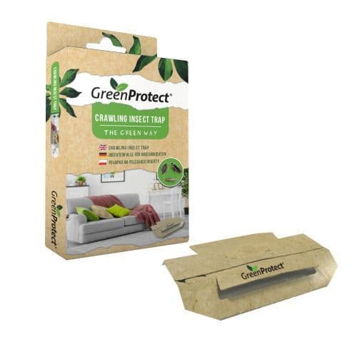 Green Protect & Chemical Free Silverfish Killer Traps x 2