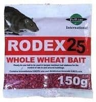 Rodex Rat Poison Sachets  20 x 150g