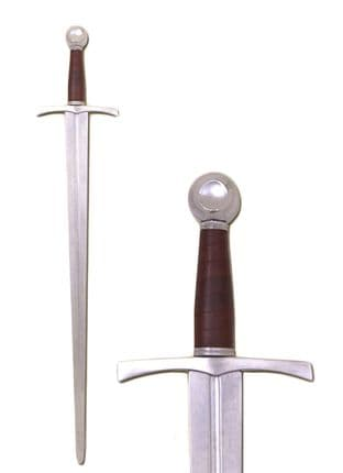Armour class-AC-MS1 One Handed Sword SK-A, Battle Re-enactment, Rounded Blade Tip
