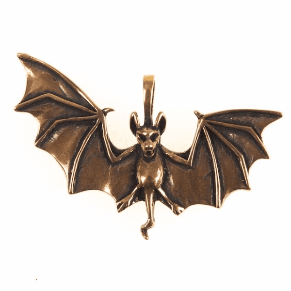 Bronze Bat Pendant