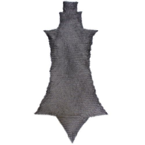 Chain Mail Chausses/Legs, Blackened ID 8mm