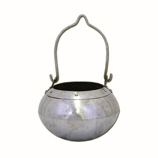 Cooking Pot For Tripod Polished