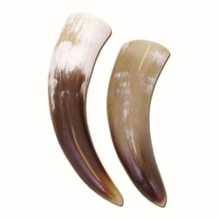 Drinking Horn from Real Horn,Varnished inside with Food Safe Varnish 100ml-150ml  - 400ml,