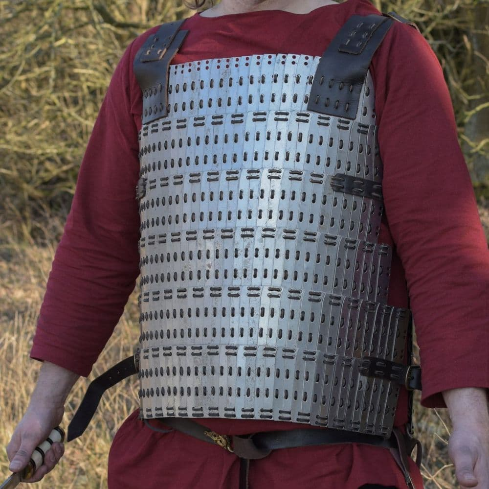 Early Medieval Scale Armour Birka Type, Non- Galvanised