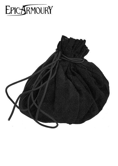 Epic Armoury Round Small Suede Leather Pouch