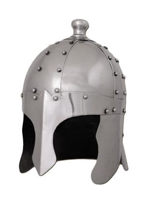 LARP King Arthurs Helmet 1.2mm Steel