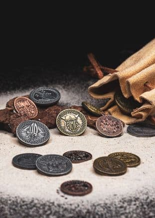 LARP-Norsemen Coins Set of 10