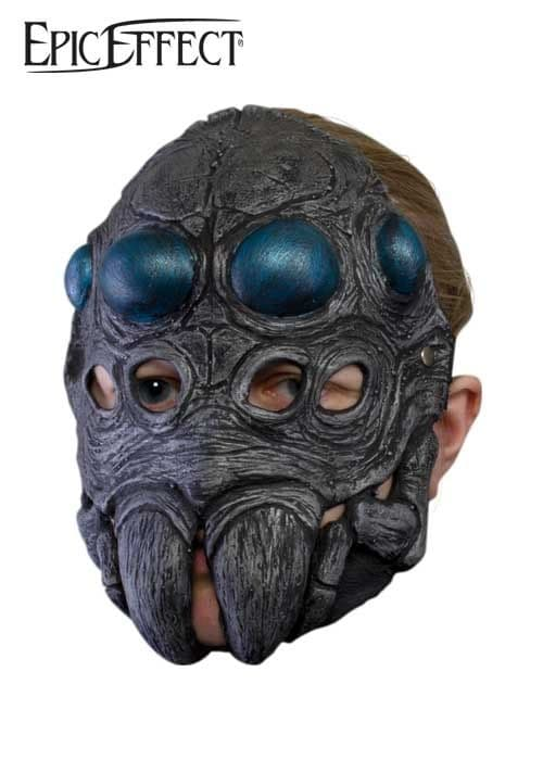 Larp Spider Head  Latex Trophy Mask also for Halloween and Fancy Dress