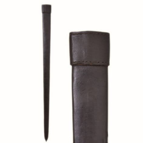 Leather Scabbard For One And A Half Handed Sword