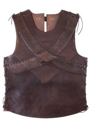 Leather Torso Armour with Cross Banding