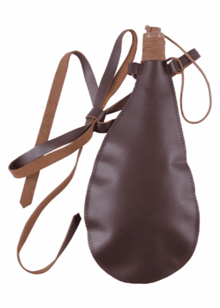 Leather Water Bottle 0.5L, Prop Only,