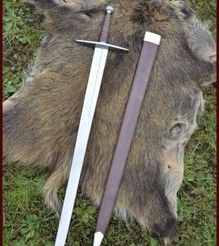 Long Sword With Scabbard SK-B, Practical Blunt