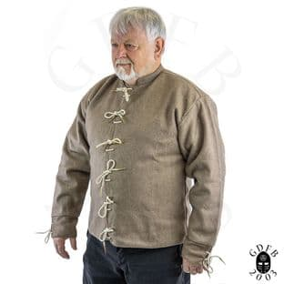 Mans Doublet 15th Century Wool