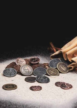 Pirate Coins Set of 10