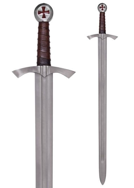 Scottish Knight Templar Sword With  Scabbard