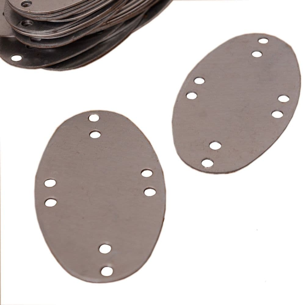 Steel Scales for Lamellar Armour, Visby Style, 25 Pieces