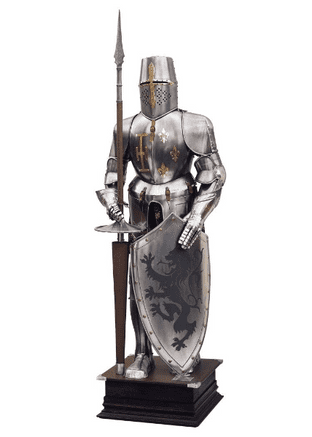 Tournament Armour With Pole and Shield By Marto