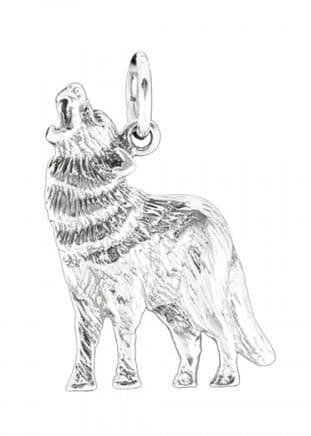 Wolf Pendant made from 925 Sterling Silver