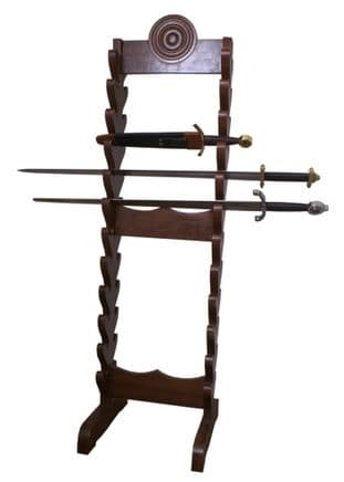Wooden Stand For Swords