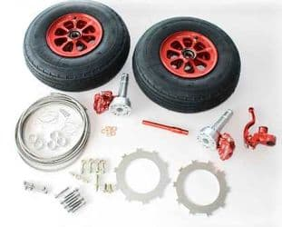 Beringer Main Wheels and Brakes Kit For Skyranger & Nynja