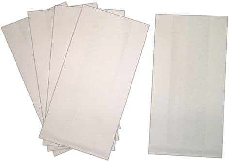 Pack of  5 Lined Vomit / Sick Bags for Travel Sickness