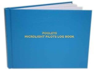 Pooleys Microlight Pilots Log Book