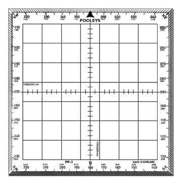 Pooleys PP1 Square Protractor
