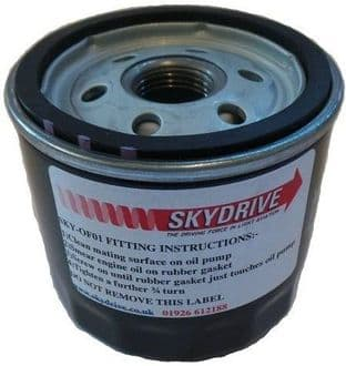 Skydrive Oil Filter, 912ul, & 912uls