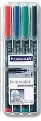 Staedtler Lumocolour  0.6mm Nib Permanent Pens - Suitable for use on Laminated Charts