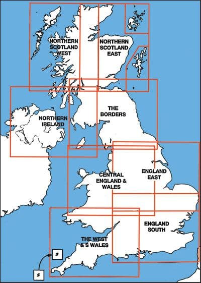 United Kingdom, Civil Aviation Authority 1:250,000 Scale Aviation Charts, for VFR Flying