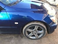 2001 LEXUS IS200 IS300 DRIVER FRONT WING BLUE 8M6 OSF #220117
