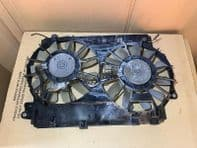 2007 LEXUS IS220 FANS WITH SHROUD FOR WATER COOLANT RADIATOR 05-12 IS220D