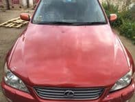 99-05 LEXUS IS200 IS300 BONNET RED AZTEC FIRE COLOUR 3N3 COLLECTION ONLY #0109