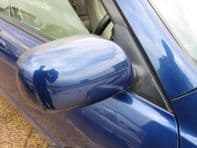 99-05 LEXUS IS200 IS300 COMPLETE WING MIRROR DRIVER SIDE O/S BLUE COLOUR