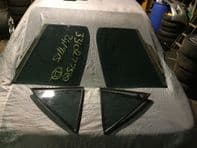 99-05 LEXUS IS200 IS300 SET OF FACTORY TINTED GLASS FOR REAR DOORS LEFT & RIGHT
