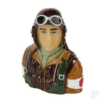 Japanese Pilot WWII (Painted) P201