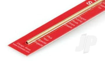 "K&S Brass Rectangular Tube (12"")"
