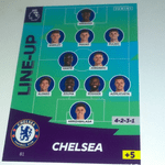 #81 Chelsea Line Up Panini Adrenalyn 2020/21 trading card (14)