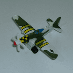 1980's  Micro Machines Mustang P-51 plane @sold@