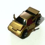 1989  Micro Machines deluxe collection gold Ferrari Mondial vgc @sold@