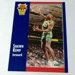 1991-92 Fleer #231 Shawn Kemp Seattle super sonics Basketball Card  @sold@