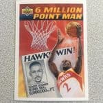 1992-93 upper deck 6 million point man Stacey Augman @sold@