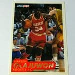 1993-94 Fleer Houston Rockets Basketball Card #79 Hakeem Olajuwon @sold@