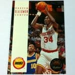 1993 NBA Skybox Hakeem Olajuwon #81 basketball card @sold@