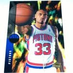 1994-95 Upper Deck Detroit Pistons Basketball Card #157 Grant Hill Rookie @sold@